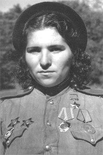 Lyudmila Kravets Hero of the Soviet Union