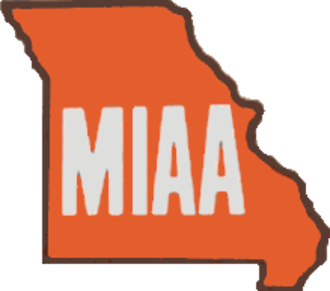 Mid-America Intercollegiate Athletics Association - Original logo for the MIAA