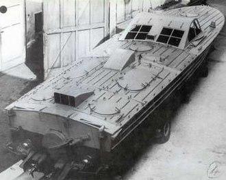 MTSM motor torpedo boat - Image: MTSMA Motoscafo Turismo Silurante Modificato Allargato