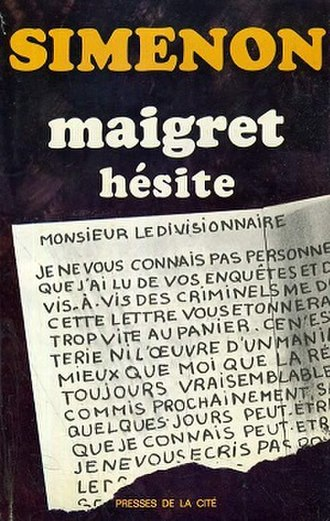 Maigret Hesitates - First edition (publ. Presses de la Cité)