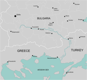 Turkey And Greece Map.Evros River Incident Wikipedia