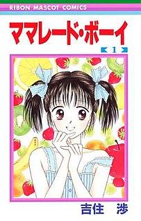 <i>Marmalade Boy</i> Manga and anime series