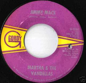 Jimmy Mack - Image: Martha vandellas jimmy mack