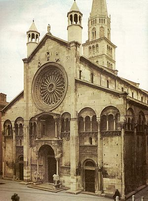 Façade of the Cathedral.