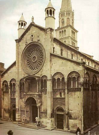 Modena - Façade of the Cathedral