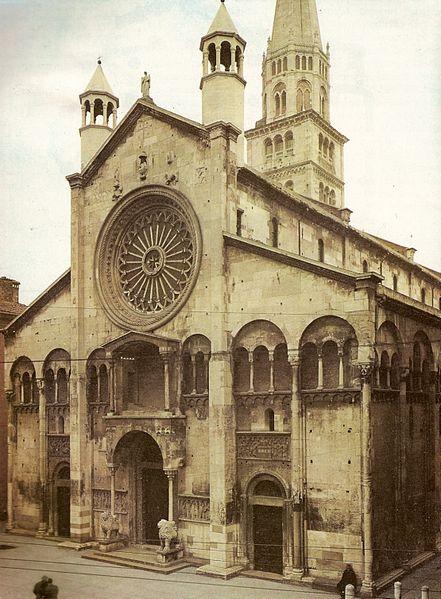 File:Modena Cathedral facade.jpg