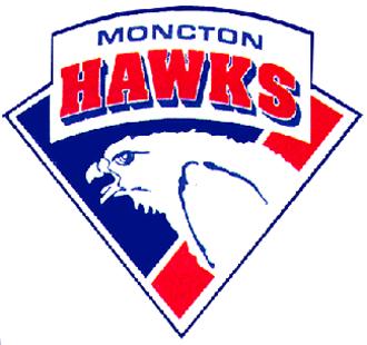 Moncton Hawks - 1993–94 logo.