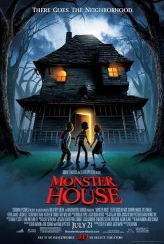 Monster House (film) - Theatrical release poster