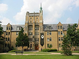 Morrissey Hall (University of Notre Dame) - Image: Morrisseyhall
