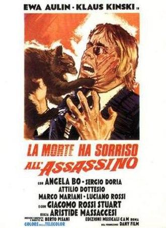 Death Smiles on a Murderer - Italian film poster