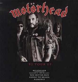 '92 Tour EP - Image: Motörhead '92 Tour EP (1992)