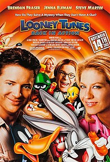 <i>Looney Tunes: Back in Action</i> 2003 film directed by Joe Dante