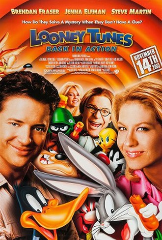 Looney Tunes: Back in Action - Theatrical release poster
