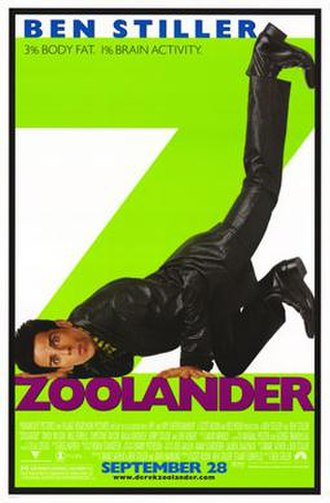 Zoolander - Theatrical release poster