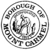 Official seal of Borough of Mount Carmel