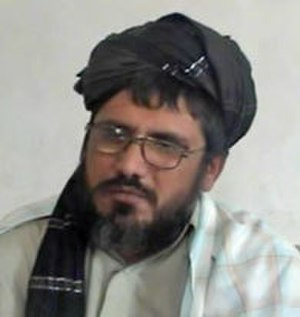 Muhammad Rasul - Rasul speaking during a gathering in Farah province of Afghanistan in November 2015