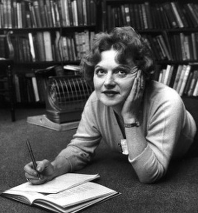 Picture of an author: Muriel Spark