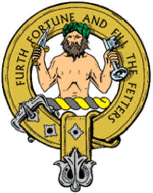 Atholl Highlanders - Cap Badge of the Atholl Highlanders