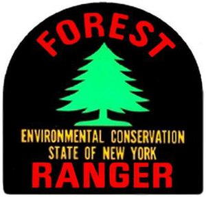 New York State Forest Rangers - Image: NYS Forest Ranger Patch