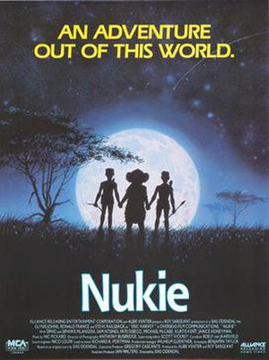 Nukie - Canadian VHS poster for Nukie