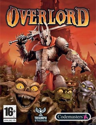 Overlord (2007 video game) - PAL box art