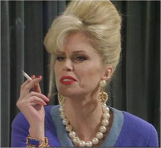 fictional character on the UK television series Absolutely Fabulous