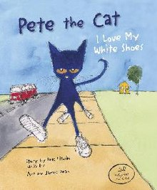 Image result for pete the cat i love my white shoes 2009