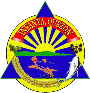 Infanta, Quezon - Image: Ph seal quezon infanta