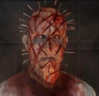 Pinhead (Hellraiser) - Pinhead redesign by Gary Tunnicliffe, as shown in Project Angel: Redesigning an Icon