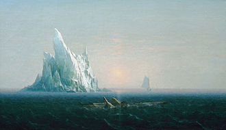 """Arctic policy of the United States - """"Polar Sea"""" by George Curtis (1867 – same year US became an Arctic nation)"""