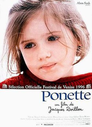 Ponette - French theatrical release poster