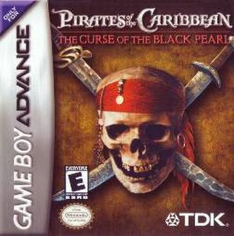 Pirates of the Caribbean: The Curse of the Black Pearl (video game) - Image: Pot C The Curse of the Black Pearl cover