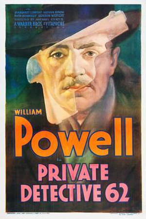 Private Detective 62 - Theatrical Film Poster
