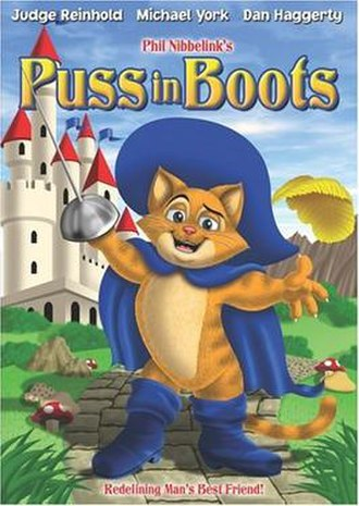 Puss in Boots (1999 film) - Puss In Boots, DVD Cover