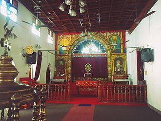 St. George Orthodox Church Puthuppally Pally - Altar
