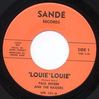 Louie Louie - Image: Raiders Sande 45