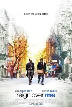 Reign Over Me - Theatrical release poster