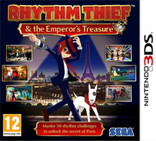 Rhythm thief and the emperor treasure on nintendo