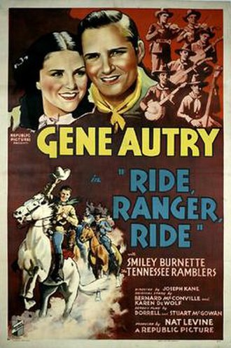 Ride Ranger Ride - Theatrical release poster