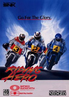 <i>Riding Hero</i> 1990 video game