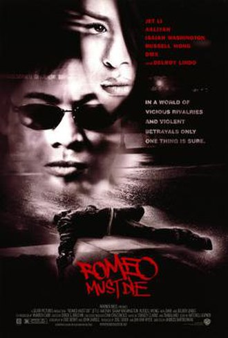 Romeo Must Die - Theatrical release poster