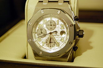 Audemars Piguet - Image: Royal Oak Offshore watch by Audemars Piguet