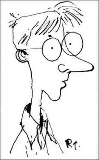 Richard Thompson (cartoonist) - Self-portrait
