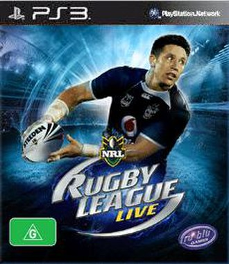 Rugby League Live - PlayStation 3 cover art