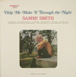 Help Me Make It Through the Night (album) - Image: Sammi Smith Help Me Make It Through the Night