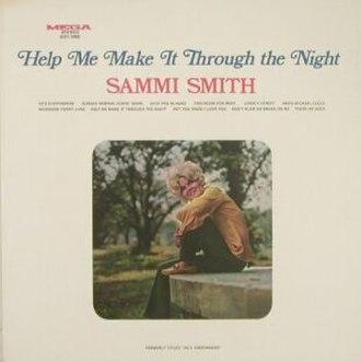 Help Me Make It Through the Night (album) - Image: Sammi Smith Help Me Make It Through the Night