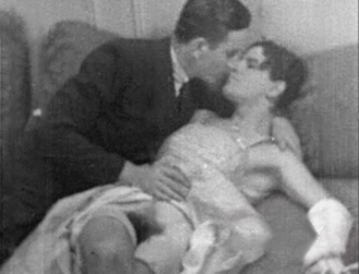 Stag film - Screen shot from a film that is part of the historical stag collection of the Kinsey Institute film archive