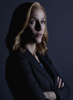 Dana Scully fictional character in the television series The X-Files