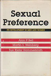 <i>Sexual Preference</i> (book) book by Martin S. Weinberg