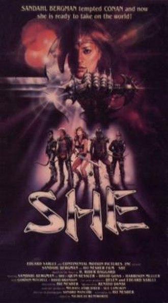 She (1984 film) - Image: She Film Poster